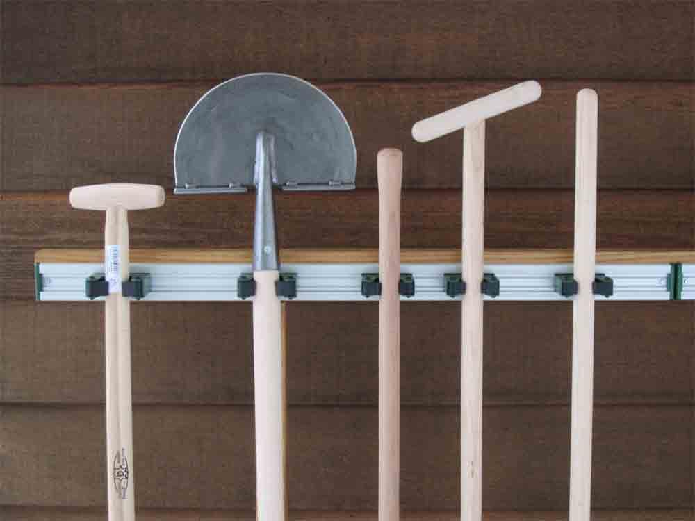 New Toolflex ophangsysteem voor al uw tuingereedschap @ED58